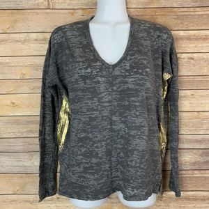 Sundry Anthropologie Women's 0 XS/S Gray Top